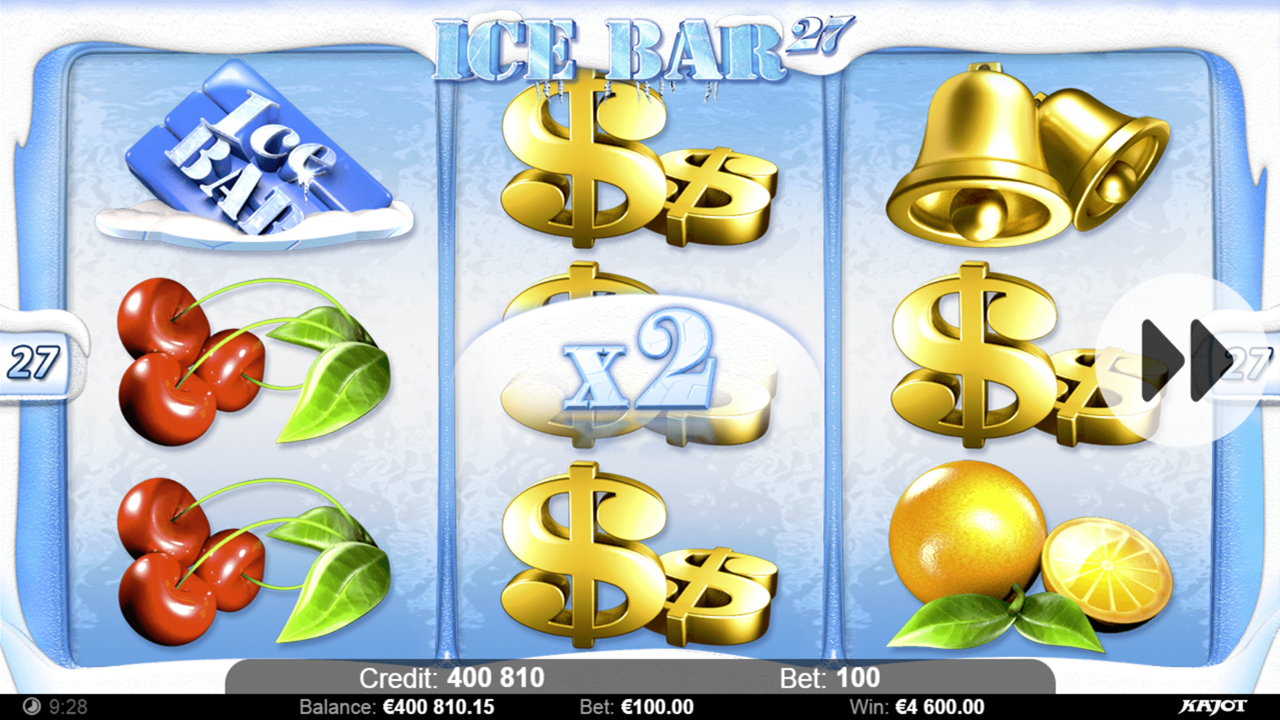 ICE BAR 27 Win x2