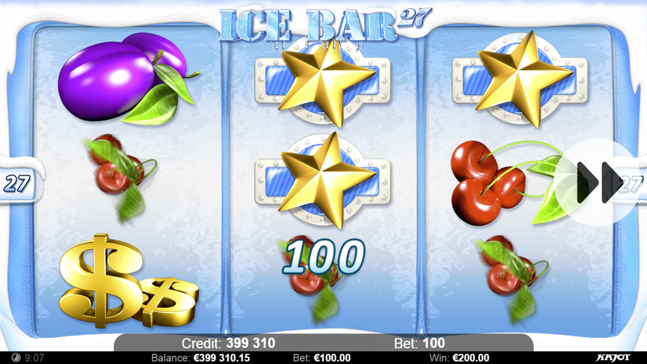 ICE BAR 27 Win A