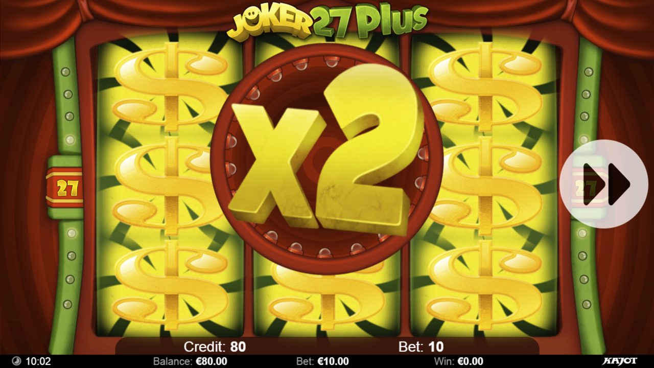 JOKER 27 PLUS Bonus