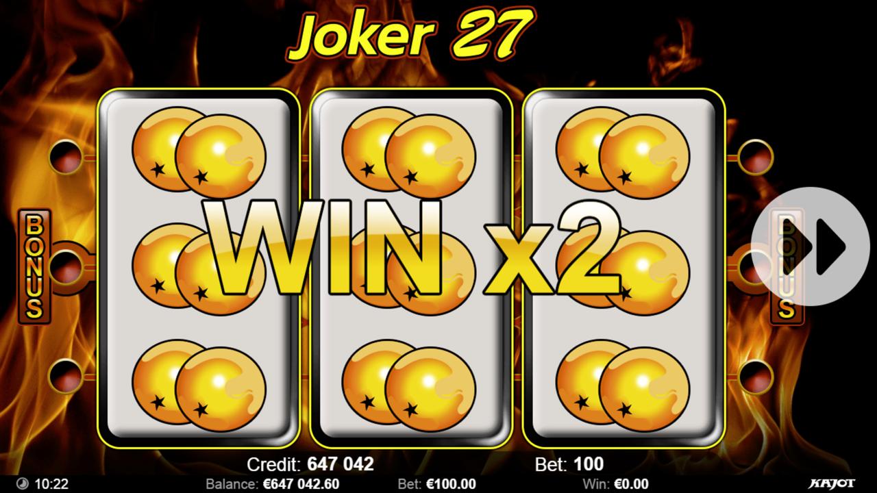 JOKER 27 Win x2