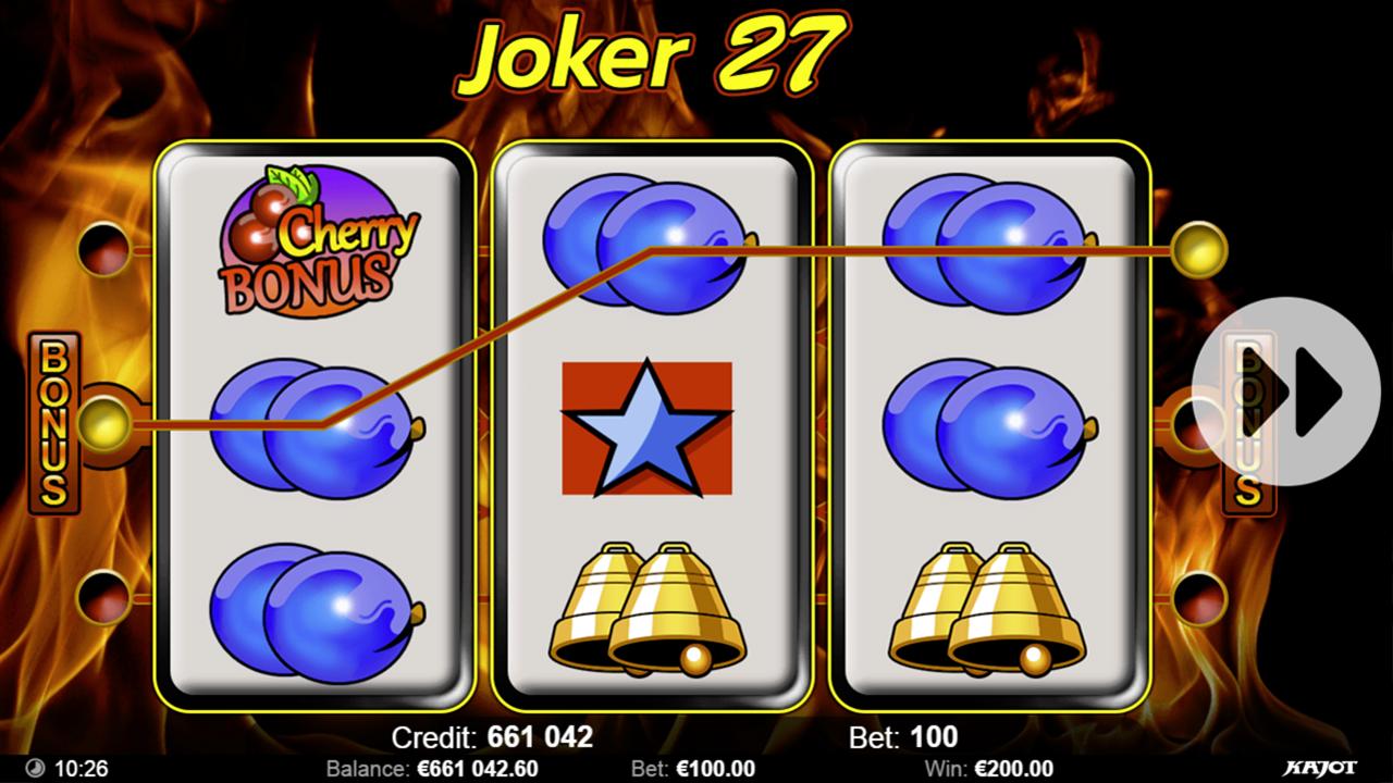 JOKER 27 Win