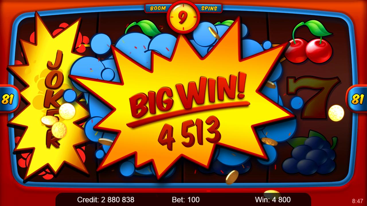 JOKER BOOM Big win