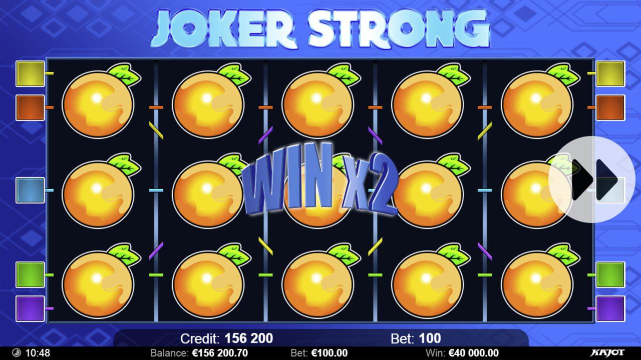 JOKER STRONG Win x2