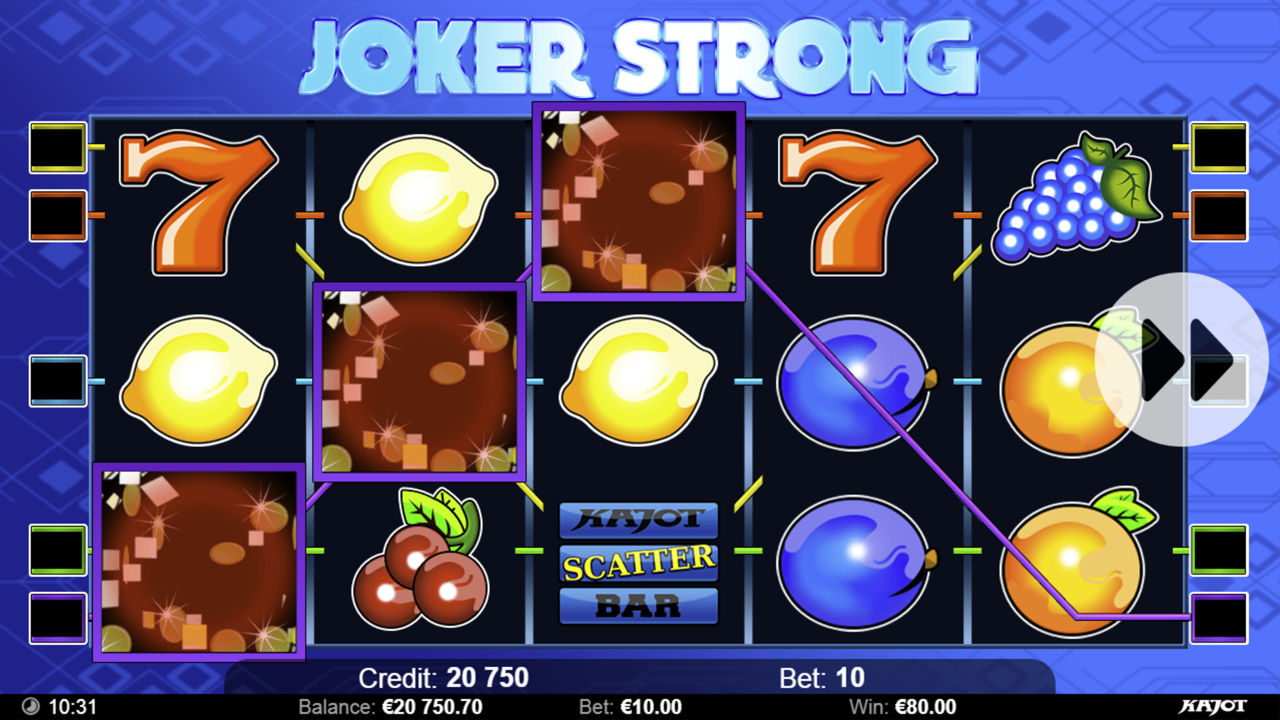 JOKER STRONG Win