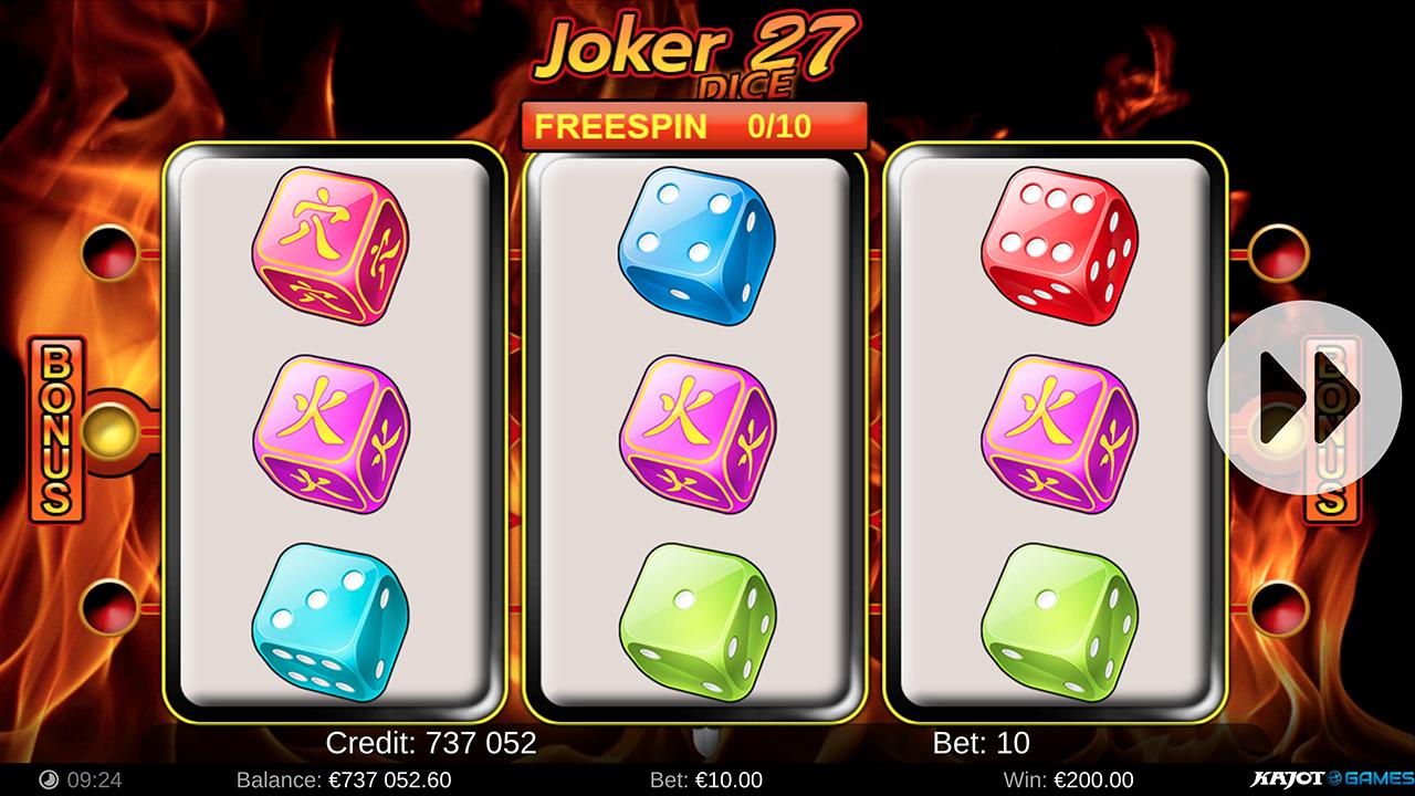 Joker 27 Dice screenshot 01
