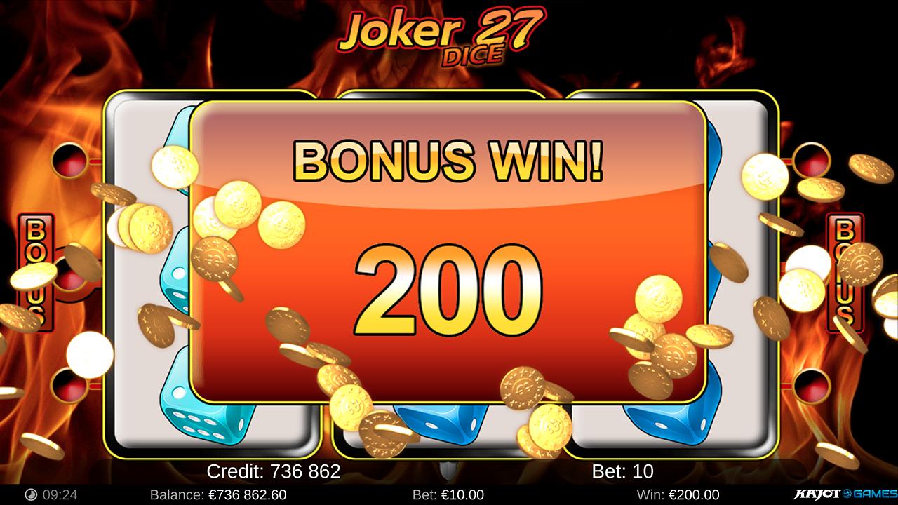 Joker 27 Dice screenshot 03