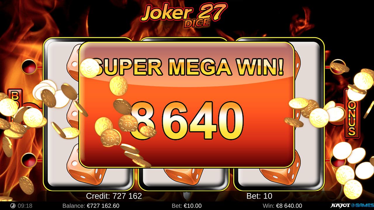 Joker 27 Dice screenshot 04