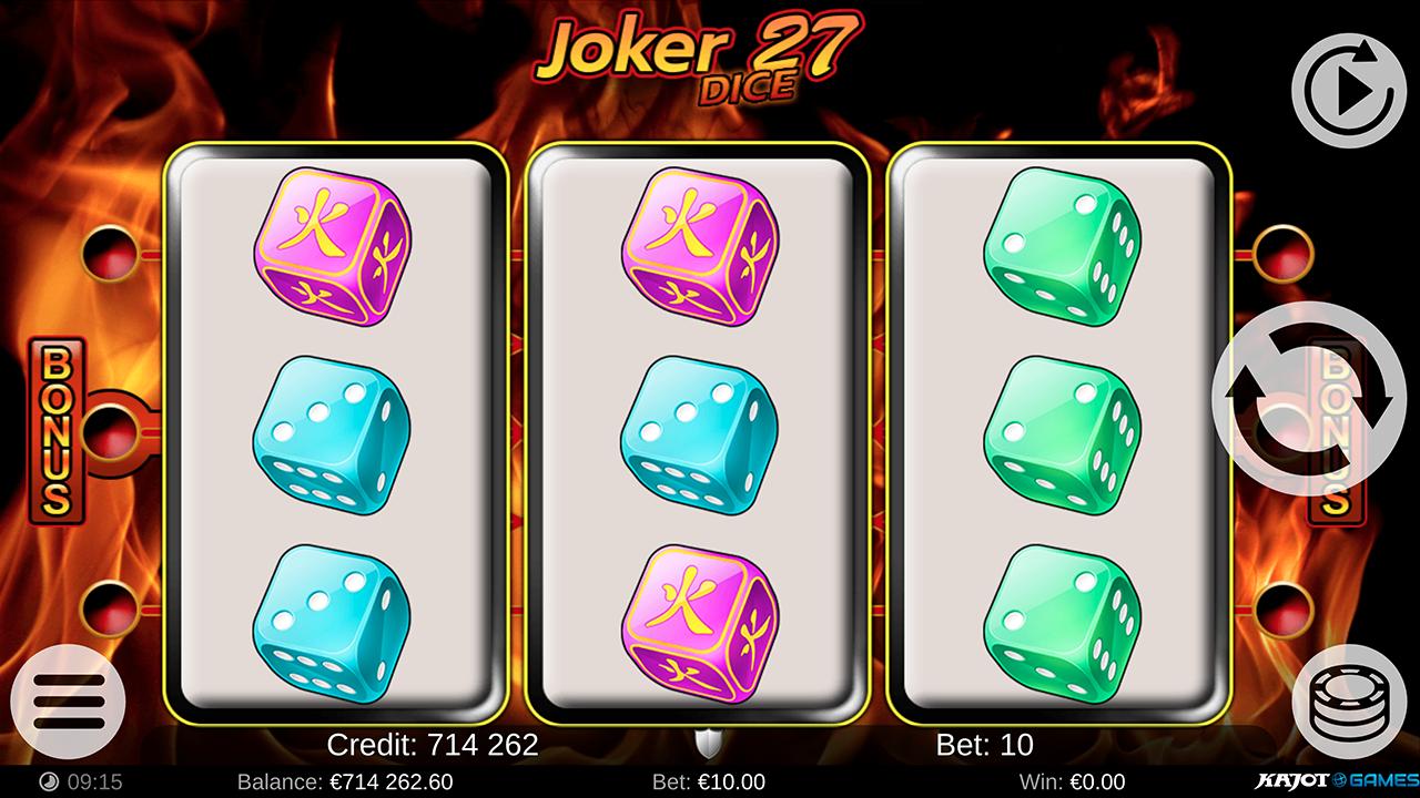 Joker 27 Dice screenshot 06
