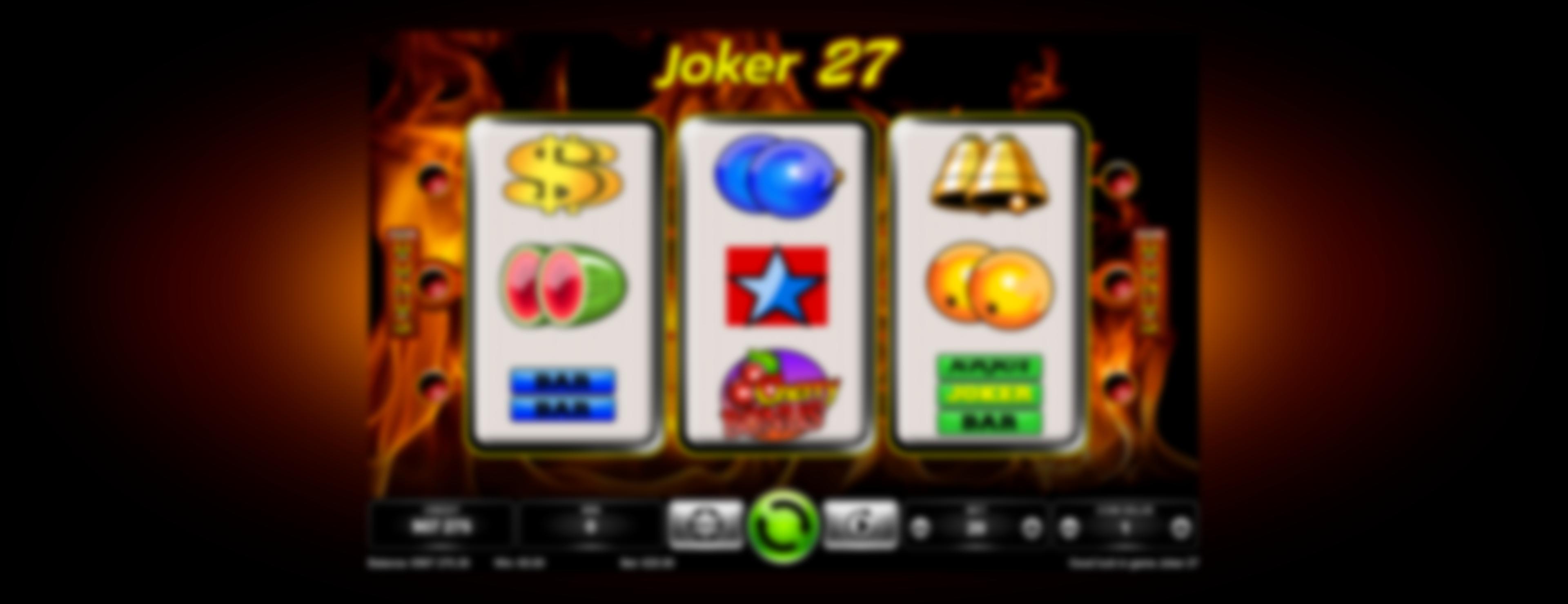 Joker 27 main photo