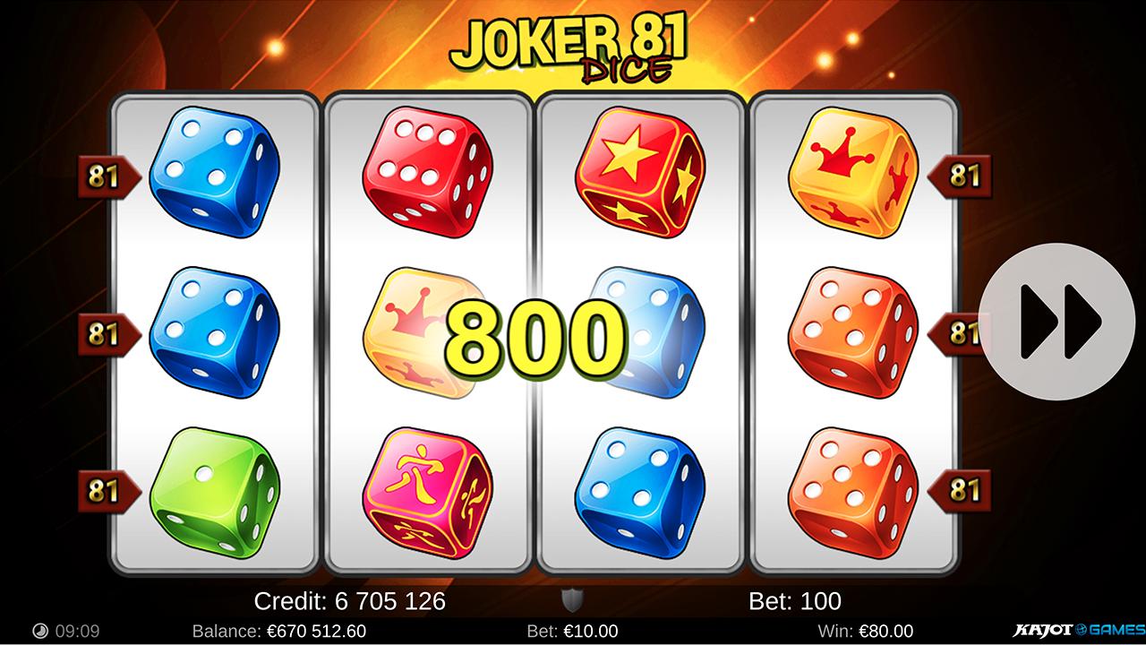 Joker 81 Dice screenshot 03