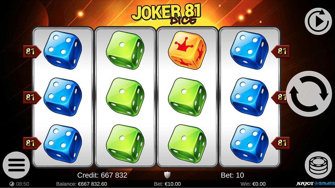 Joker 81 Dice screenshot 05