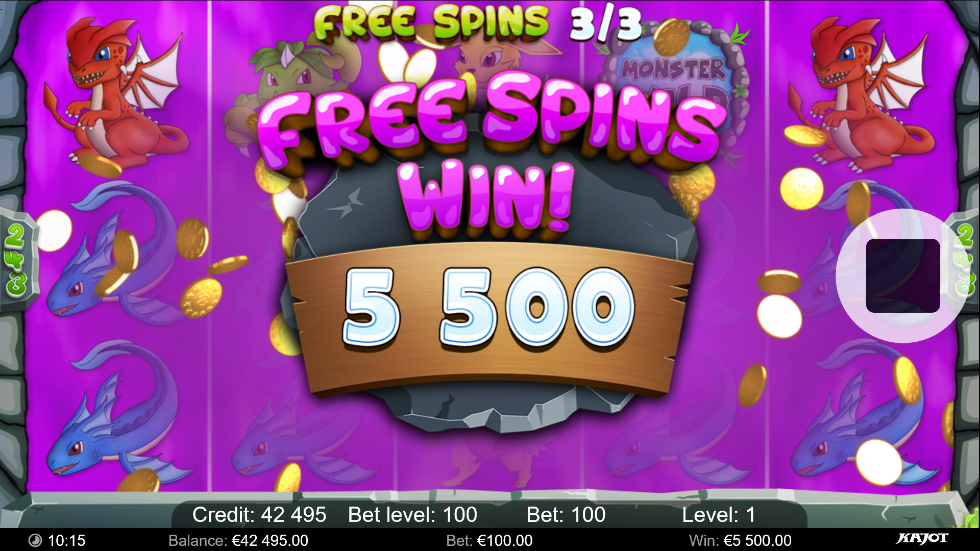 MS freespins