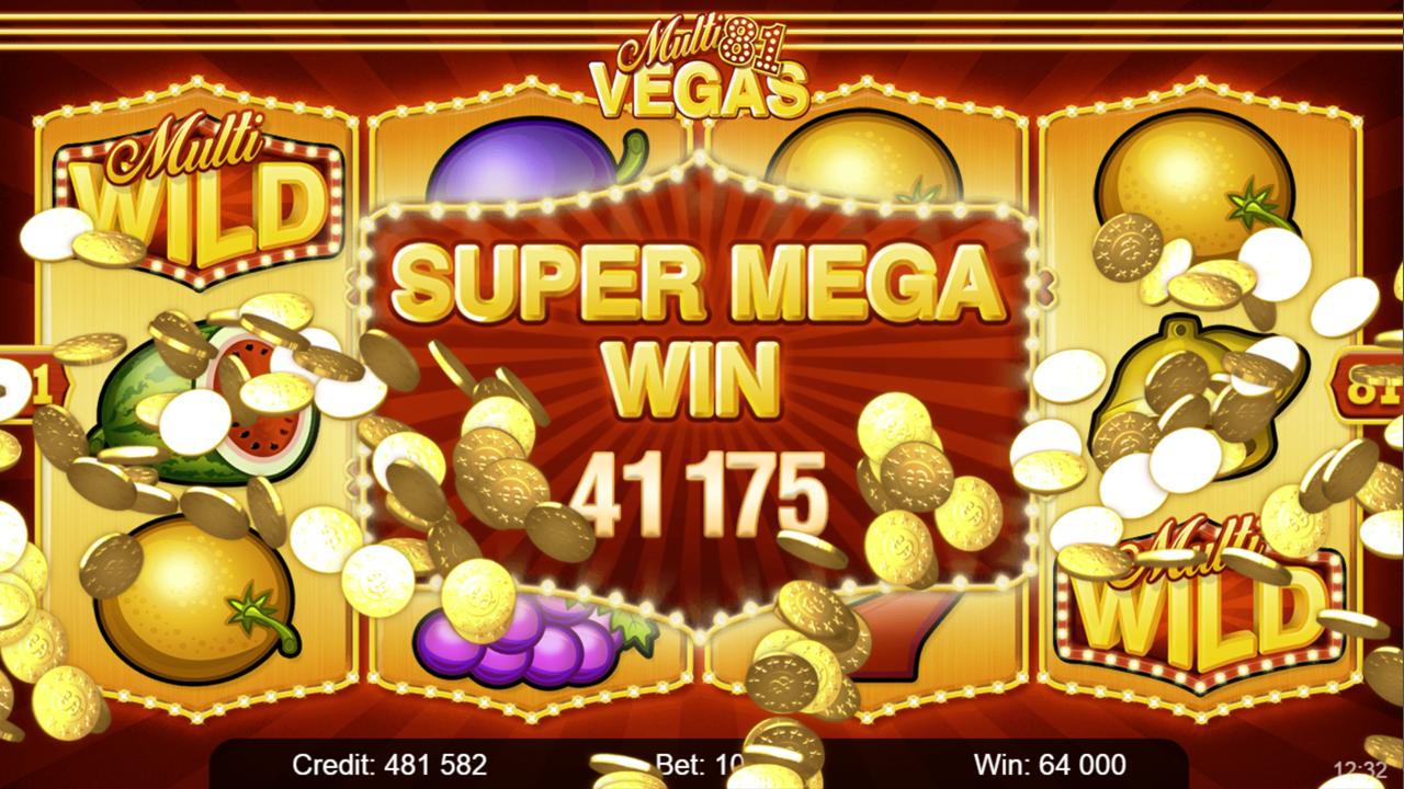 MULTI VEGAS 81 Super mega win