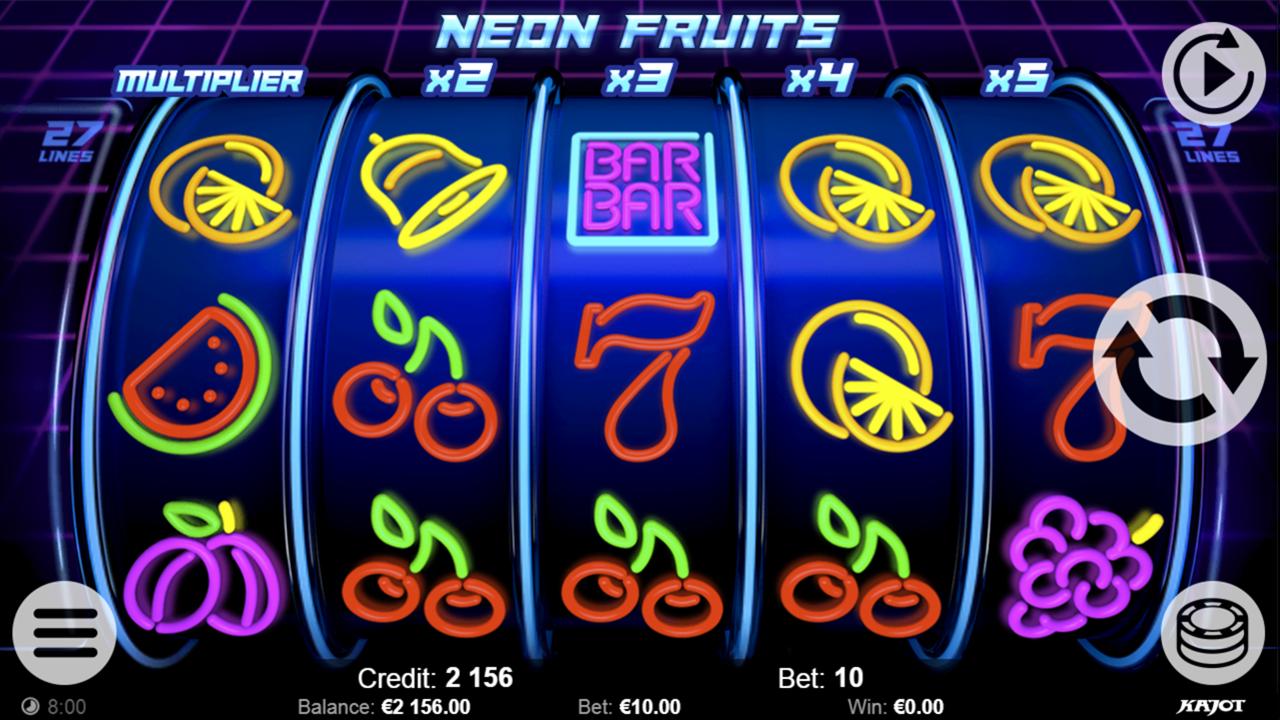 NEON FRUITS Basic