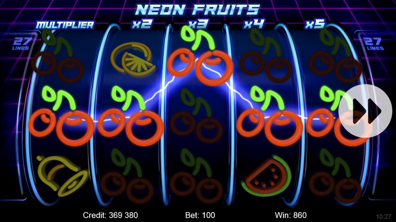 NEON FRUITS Win A