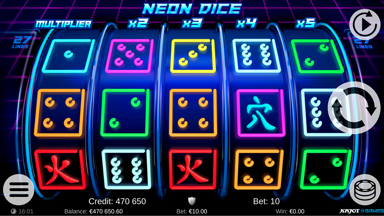 Neon Dice screenshot 06