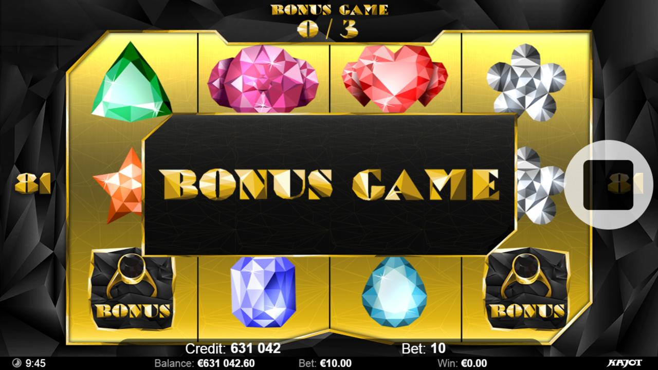 POLY DIAMONDS Bonus game