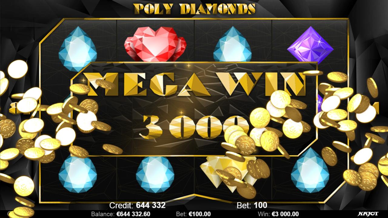 POLY DIAMONDS Mega win