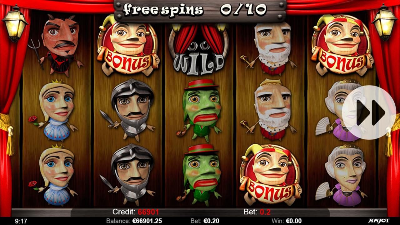 PUPPET SHOW Free spins