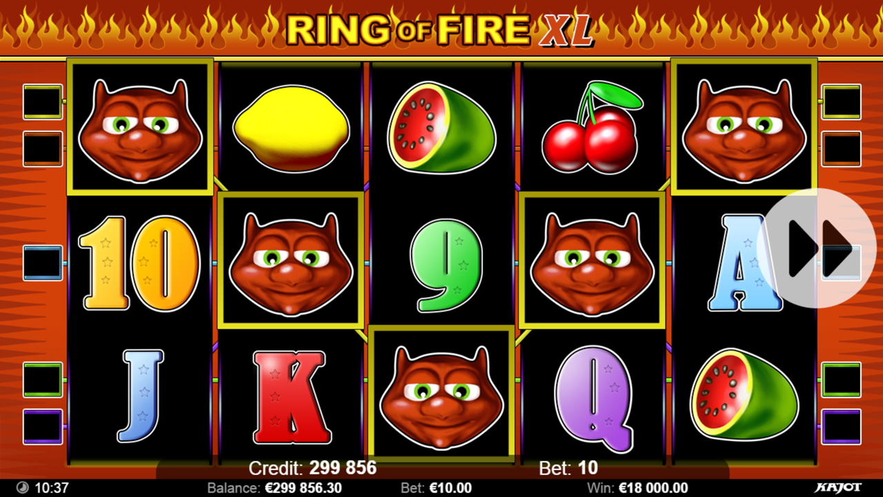 RING OF FIRE Devils
