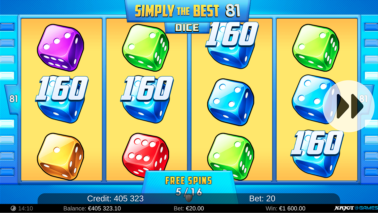 Simply The Best 81 Dice screenshot 02