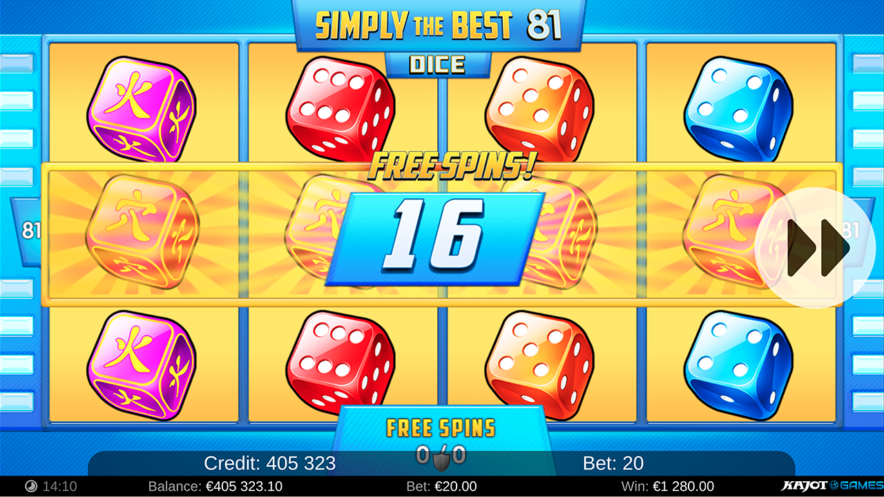 Simply The Best 81 Dice screenshot 03