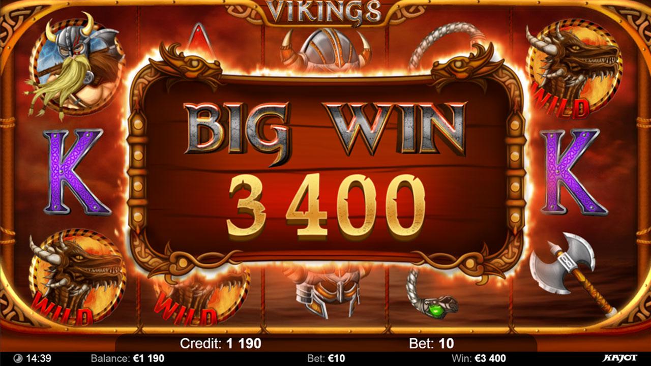 VIKINGS Big win