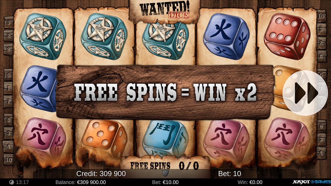 Wanted Dice screenshot 01