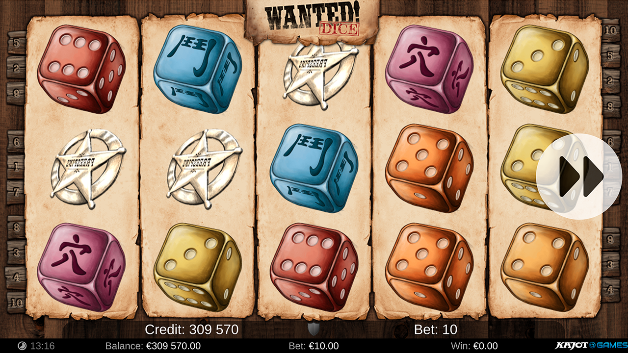 Wanted Dice screenshot 03